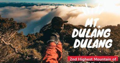 Die Philippinen im Video - Mount Dulang-Dulang