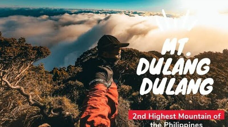 Die Philippinen im Video - Mount Dulang-Dulang