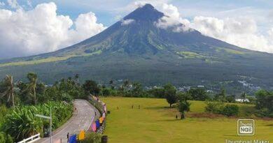 Die Philippinen im Video - Großartige Aussicht auf den Mayon Vulkan