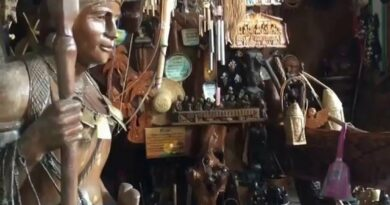 Die Philippinen im Video - Igorot Souvenir Shop in Baguio