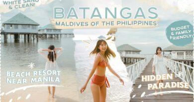 Die Philippinen im Video - Wie auf den Malediven im Batangas Strandresort
