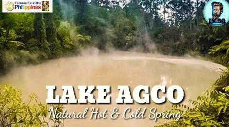 Die Philippinen im Video - Der See Agco - natürliche heiße & kalte Quelle