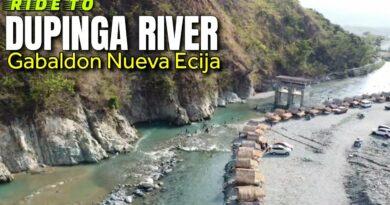 Die Philippinen im Video - Motorradfahrt zum Dupinga River in Nueva Ecija