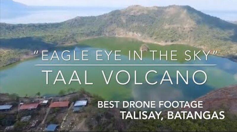 Die Philippinen im Video - Taal Vulkan vor seiner letzten Eruption
