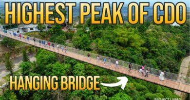 Die Philippinen im Video - Himmelsspaziergang auf der Hängebrücke in Cagayan de Oro