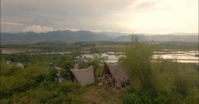 Die Philippinen im Video - Drohnenflug über die Insel Dewey - Bais
