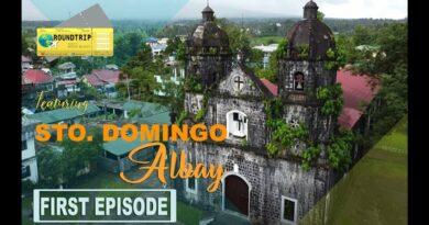 Die Philippinen im Video - Rundgang durch Santo Domingo in Albay und Umgebung