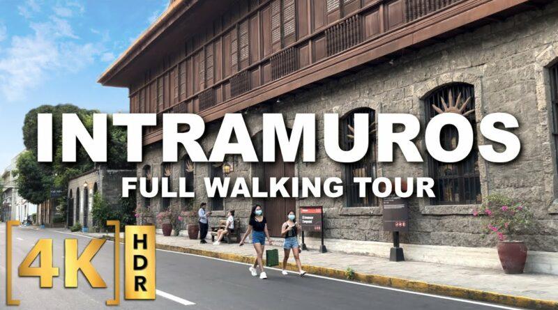 Die Philippinen im Video - Kompletter Rundgang durch Intramuros