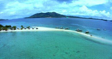 Die Philippinen im Video - Sanbank-Insel Cocepcion