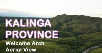 Die Philippinen im Video - Luftaufnahmen des Willkommensbogens in der Provinz Kalinga