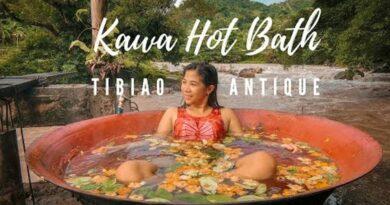 Die Philippinen im Video - Heißes Kawa Bad in Tibiao
