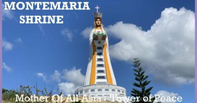 Die Philippinen im Video - Montemaria Shrine - Mother Of All Asia, Tower Of Peace
