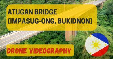 Die Philippinen im Video - Die Atugan Brücke in Impasug-on