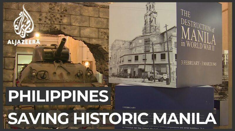 Die Philippinen im Video - Philippinische Regierung bemüht sich um den Erhalt des historischen Manila