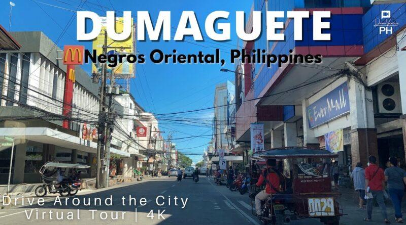 Die Philippinen im Video - Mit dem Auto durch Dumaguete
