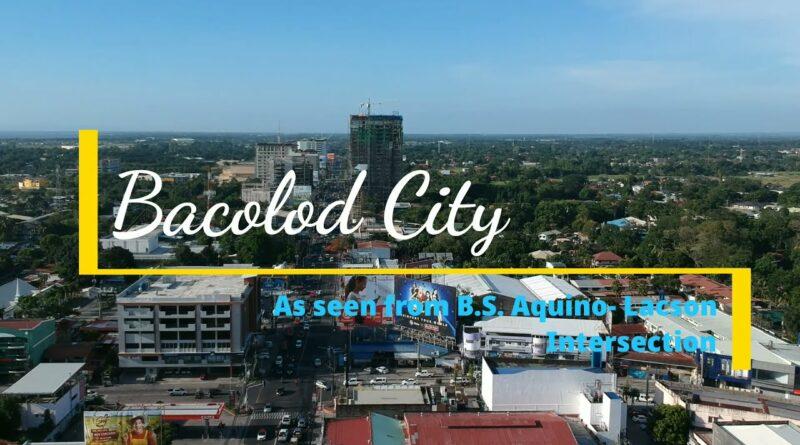 PHILIPPINEN MAGAZIN - Bacolod City von der B.S.Aquino-Lacson St. aus gesehen