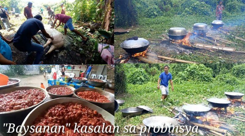 Die Philippinen im Video - Festmahl kochen zur Hochzeit in der Provinz