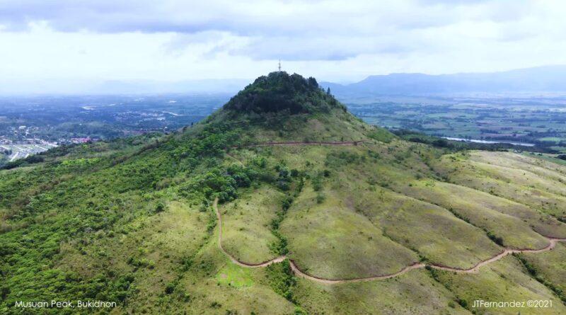Die Philippinen im Video - Der Musuan Gipfel ist ein Vulkan