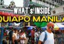 Die Philippinen im Video - Wie sieht es in Quiapo aus?