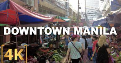 Die Philippinen im Video - Erkundung von Downtown Manila | Quiapo, Binondo, Recto, Divisoria