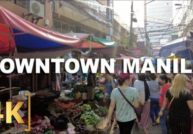 Die Philippinen im Video - Erkundung von Downtown Manila   Quiapo, Binondo, Recto, Divisoria