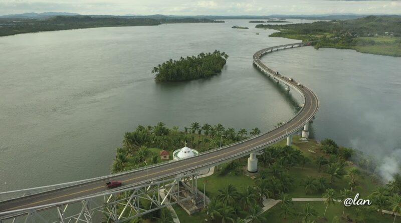 Die Philippinen im Video - Die San Juanico Bridge