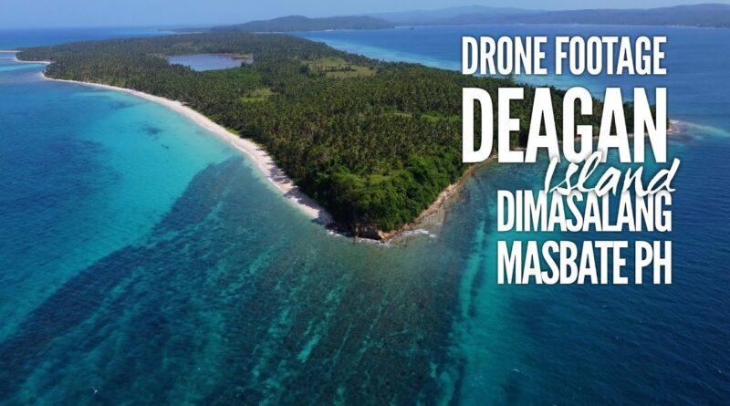 Die Philippinen im Video - Drohnenaufnahmen von der Insel Deagan | Dimasalang