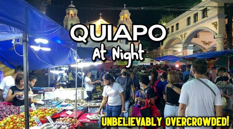 Die Philippinen im Video - Quiapo bei Nacht